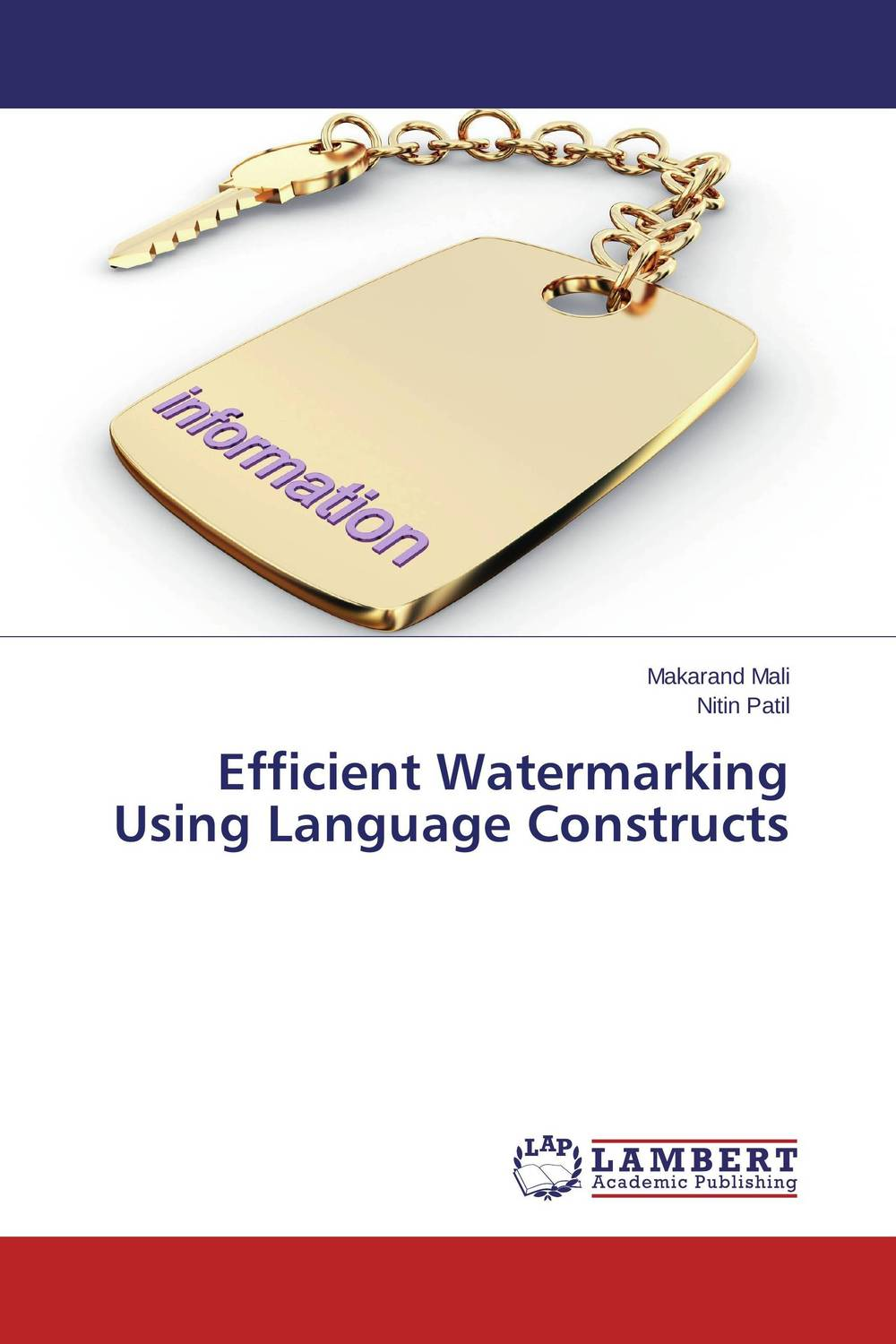 Efficient Watermarking Using Language Constructs image tamper detection using reversible watermarking