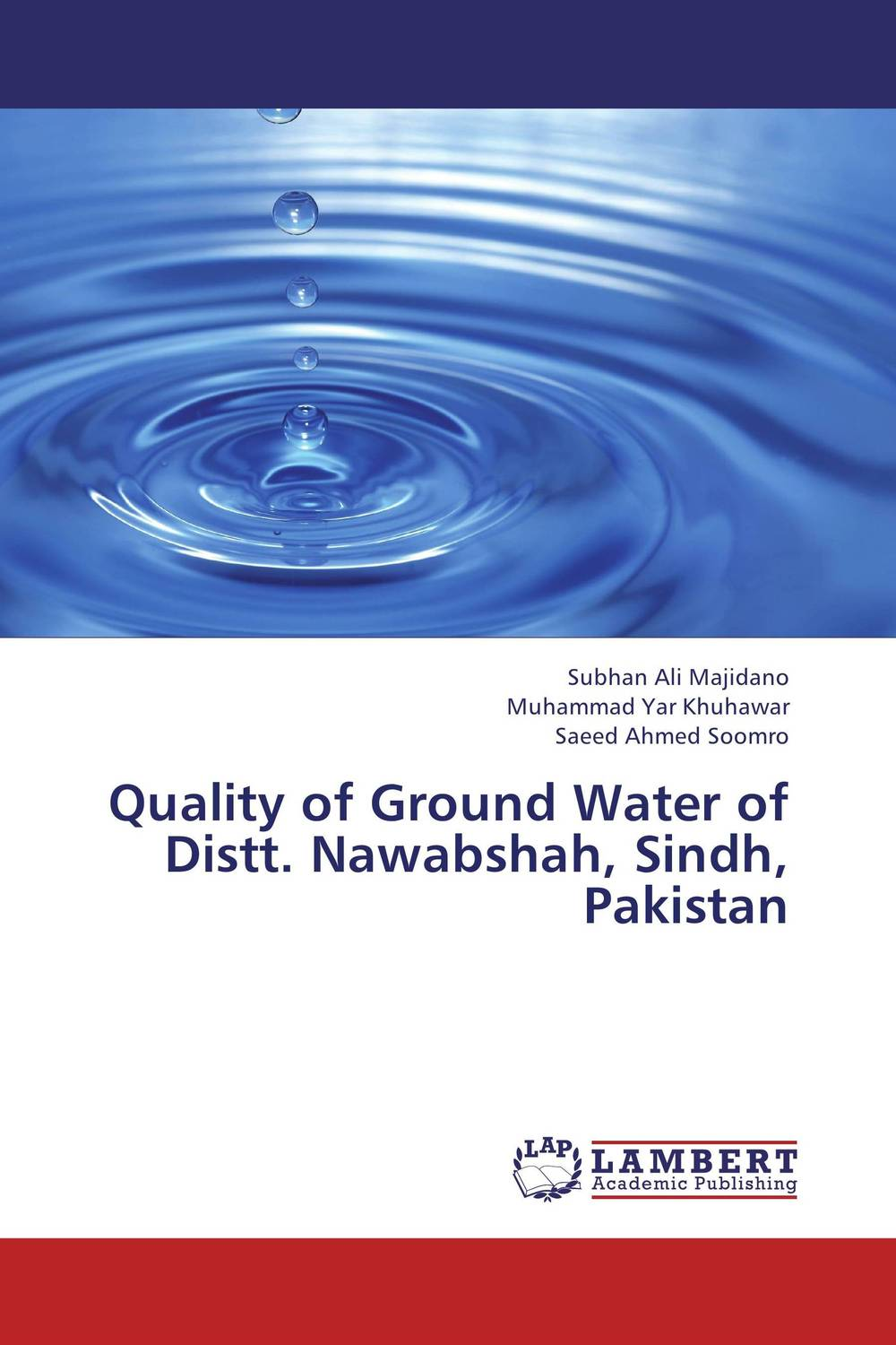Quality of Ground Water of Distt. Nawabshah, Sindh, Pakistan surface and ground water interaction