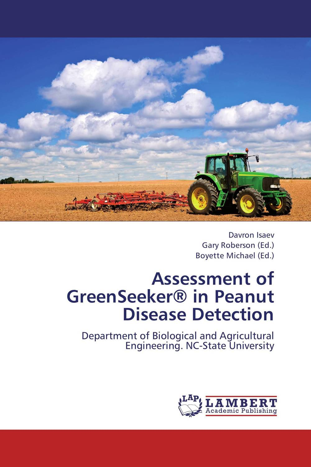 Assessment of GreenSeeker® in Peanut Disease Detection  essam m shaalan sayed ward and samy m ghania assessment of electric field exposure inside hv substations