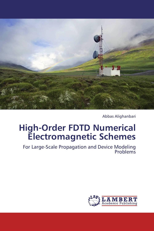 High-Order FDTD Numerical Electromagnetic Schemes numerical vs symbolic computation