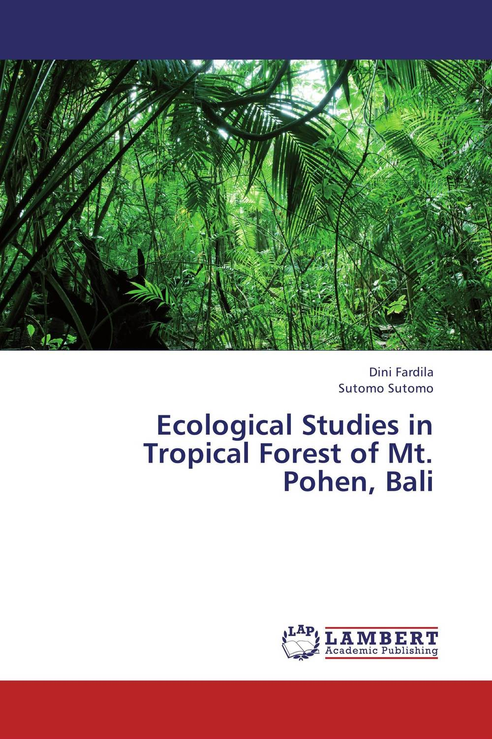 Ecological Studies in Tropical Forest of Mt. Pohen, Bali biodiversity of chapredi reserve forest
