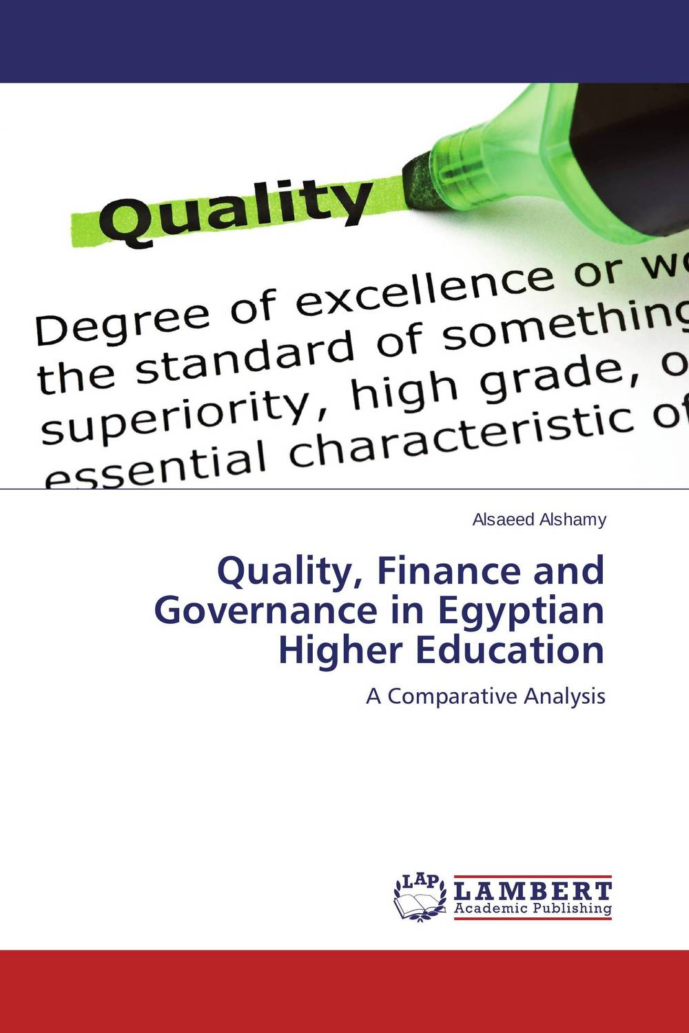 Quality, Finance and Governance in Egyptian Higher Education the role of writing in undergraduate design education in the uk