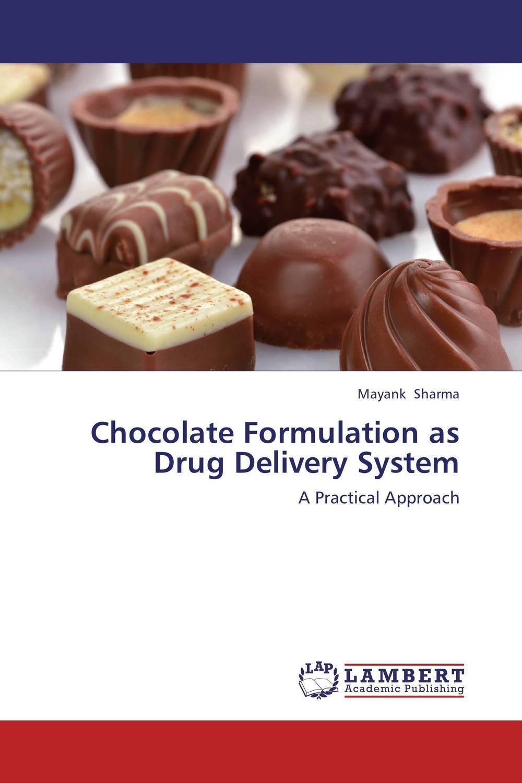 Chocolate Formulation as Drug Delivery System iontophoretic drug delivery system