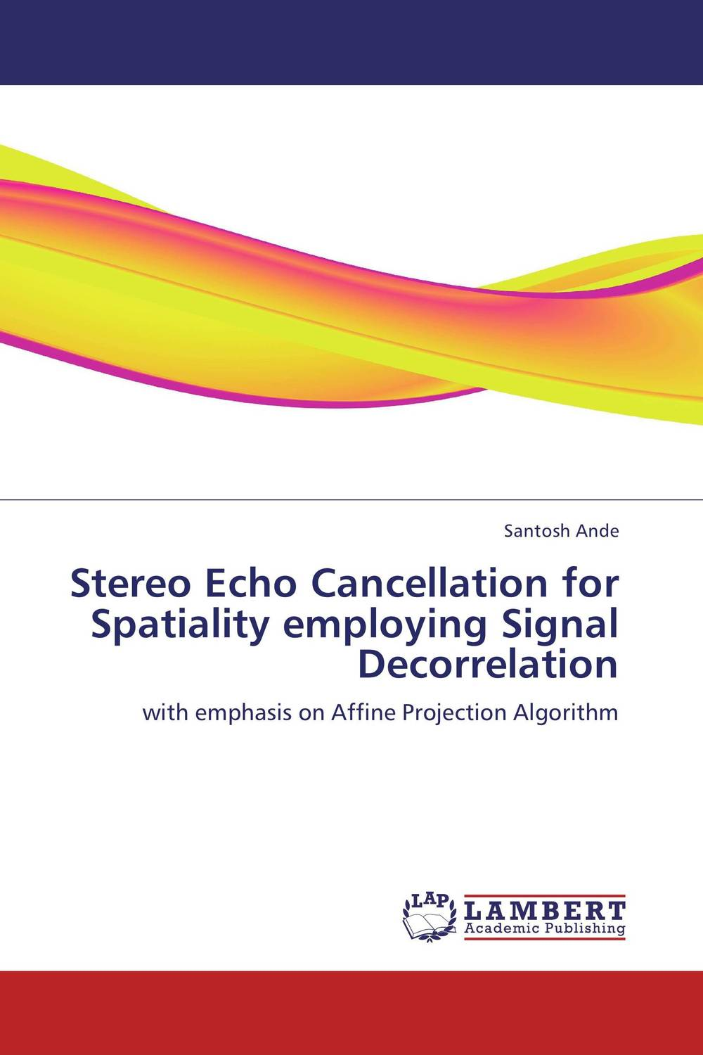 Stereo Echo Cancellation for Spatiality employing Signal Decorrelation the black echo