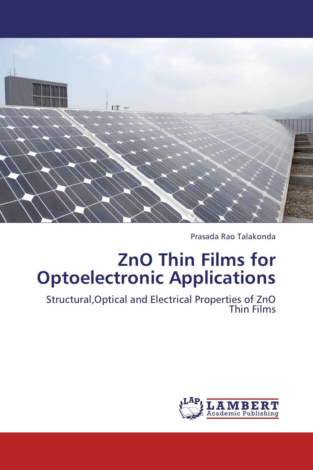ZnO Thin Films for Optoelectronic Applications study of point defects in solids and thin films