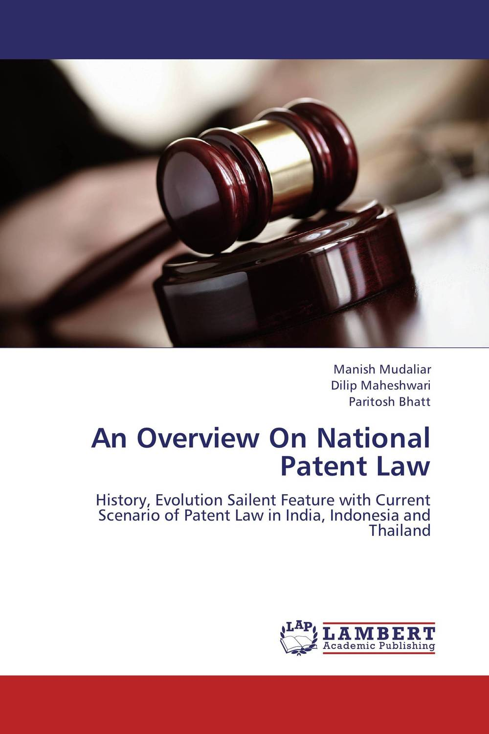 An Overview On National Patent Law granted одежда