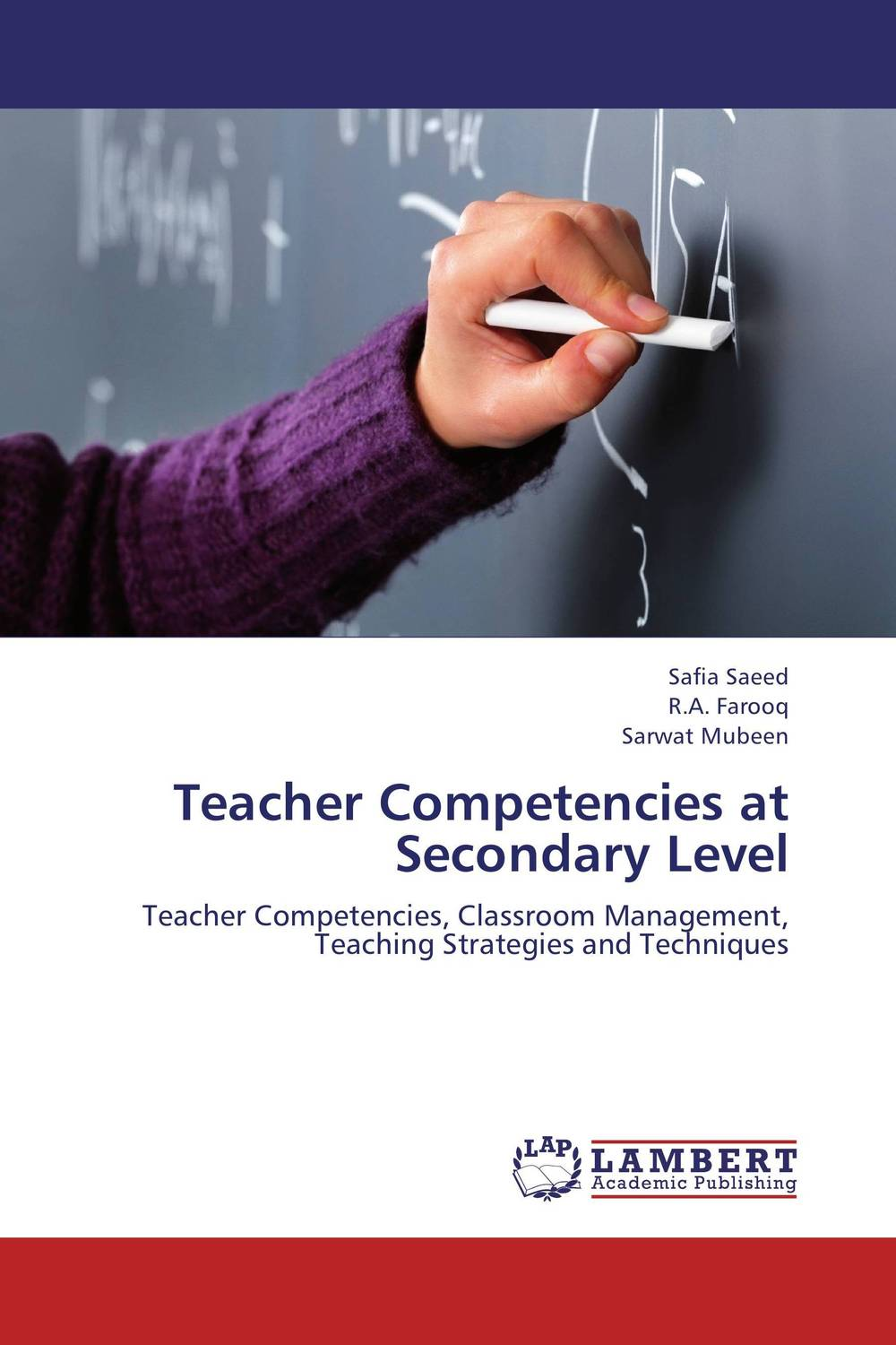 Teacher Competencies at Secondary Level teachers' perceptions of the teacher evaluation instrument and process