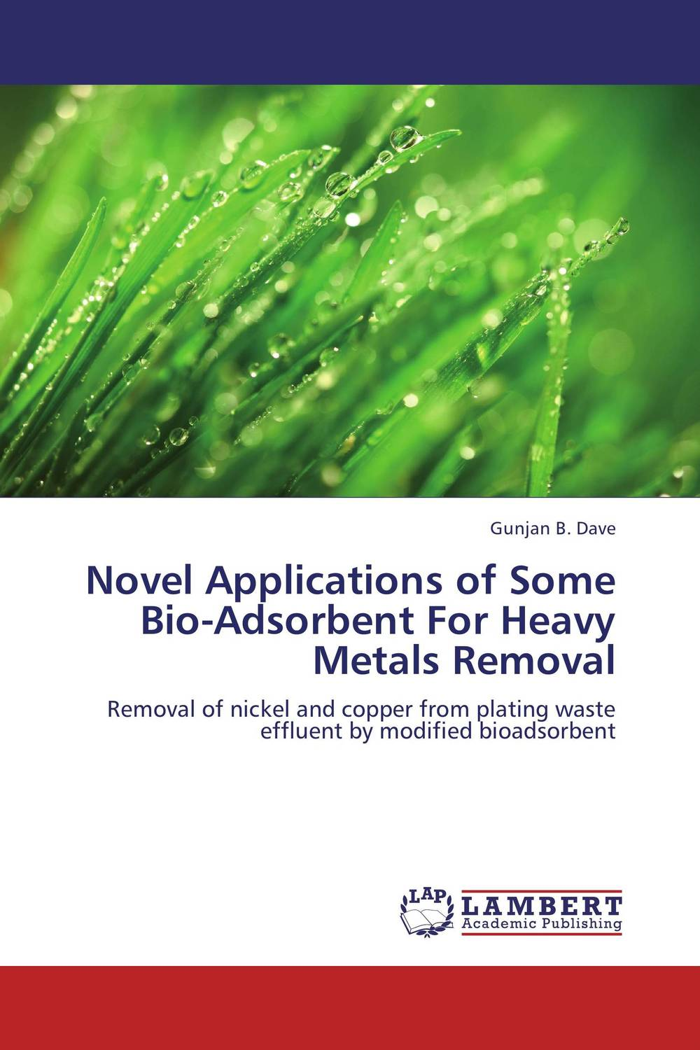 Novel Applications of Some Bio-Adsorbent  For Heavy Metals Removal novel applications of some bio adsorbent for heavy metals removal