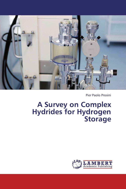 A Survey on Complex Hydrides for Hydrogen Storage hydrogen storage properties of magnesium hydride