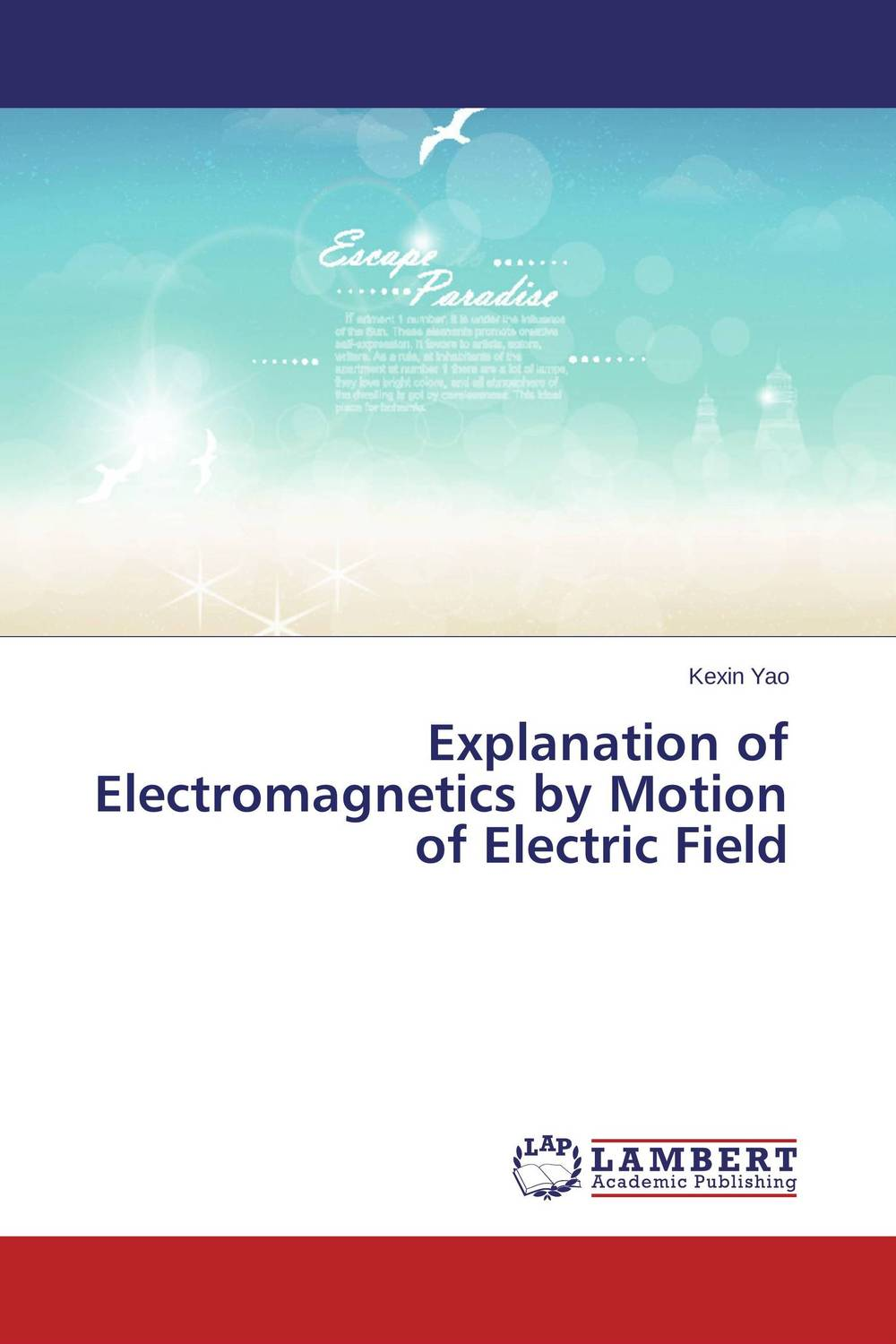 Explanation of Electromagnetics by Motion of Electric Field a sobering book explanation of the book of ecclesiastes