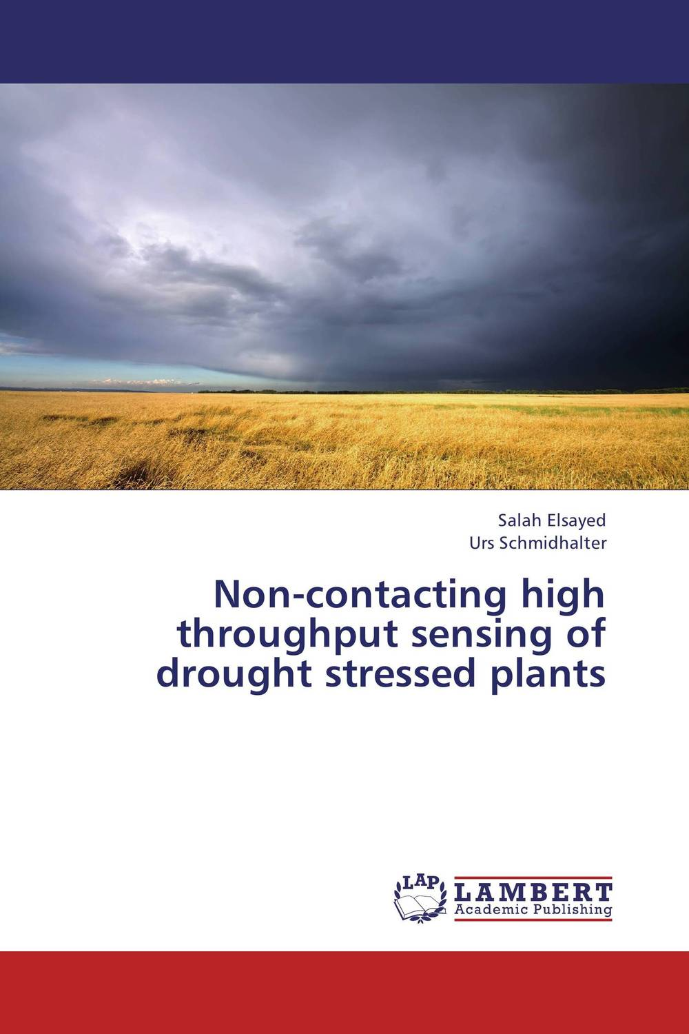 Non-contacting high throughput sensing of drought stressed plants