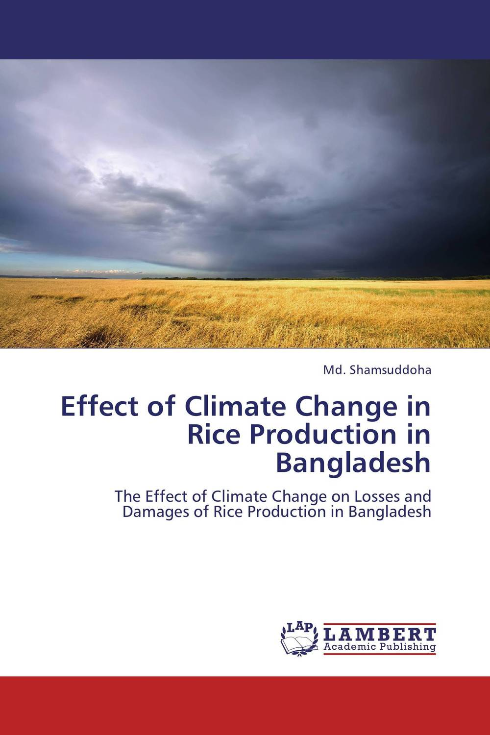Effect of Climate Change in Rice Production in Bangladesh land tenure and efficiency in boro rice production in bangladesh