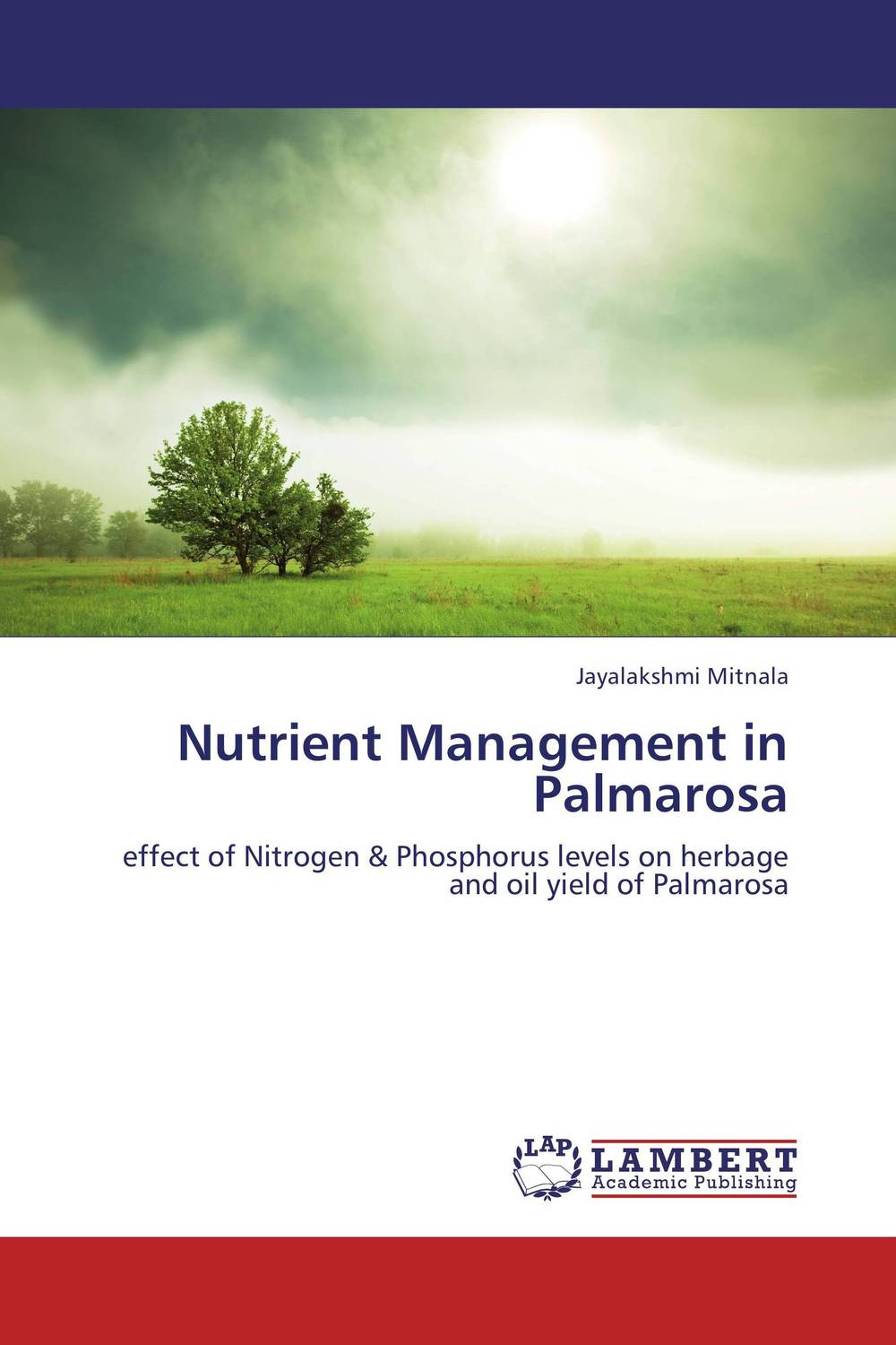 Nutrient Management in Palmarosa люстра divinare diana 8111 01 lm 6