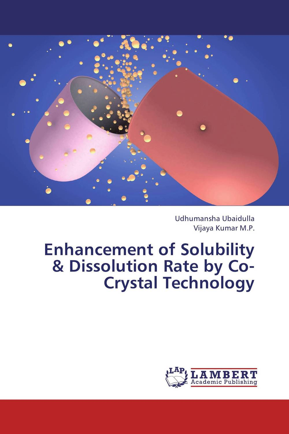 Enhancement of Solubility & Dissolution Rate by Co-Crystal Technology vipul p patel in vitro dissolution enhancement of felodipine