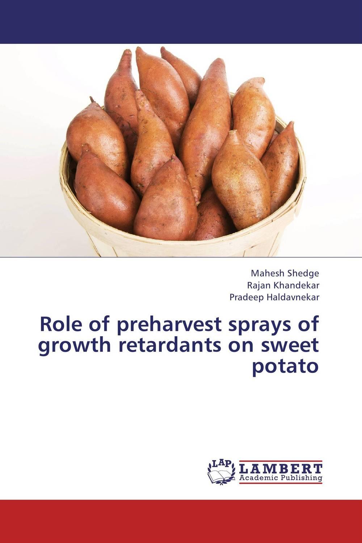 Role of preharvest sprays of growth retardants on sweet potato sweet sweet fox on the run
