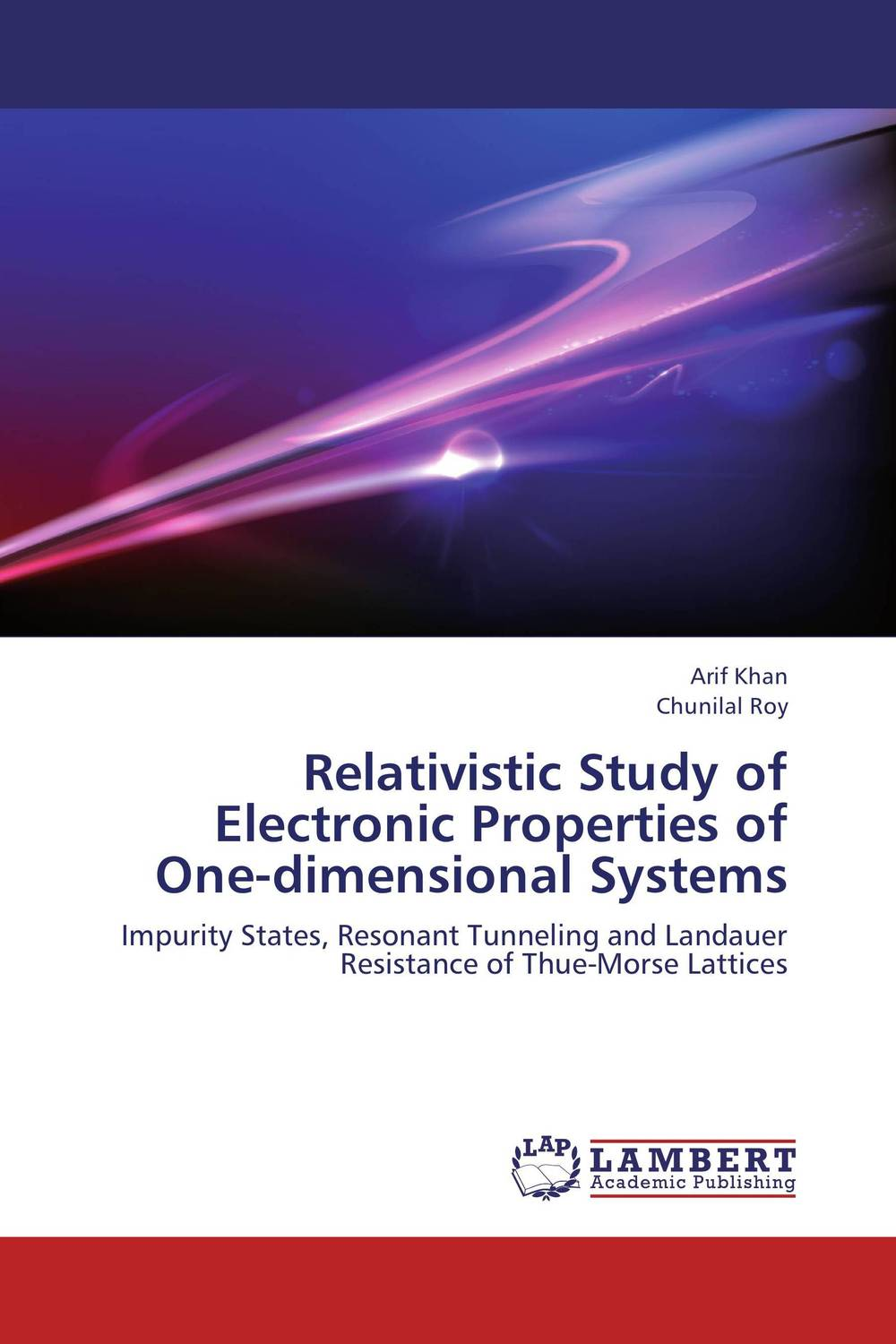 Relativistic Study of Electronic Properties of One-dimensional Systems relativistic theory of electron transport in magnetic layers
