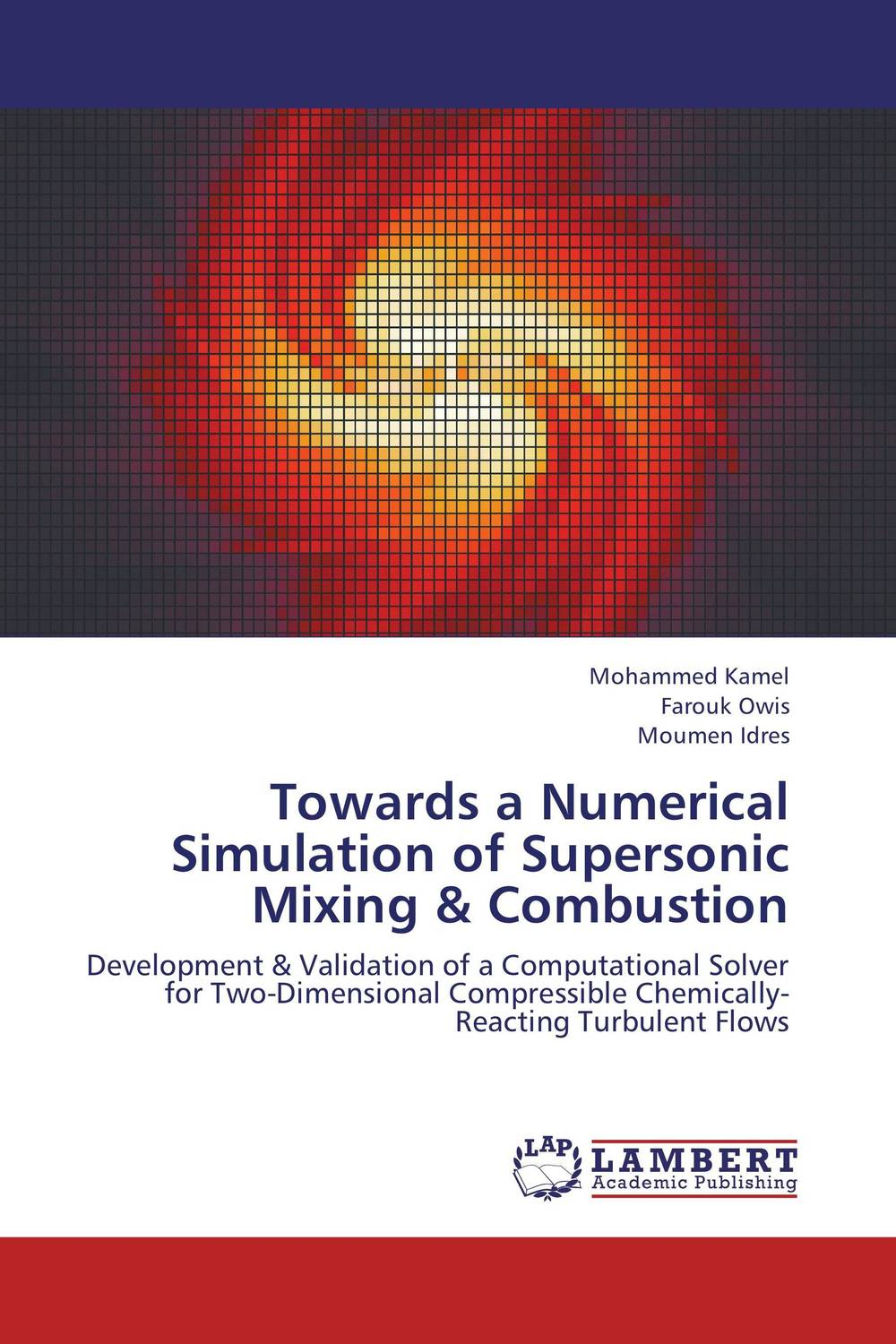 Towards a Numerical Simulation of Supersonic Mixing & Combustion