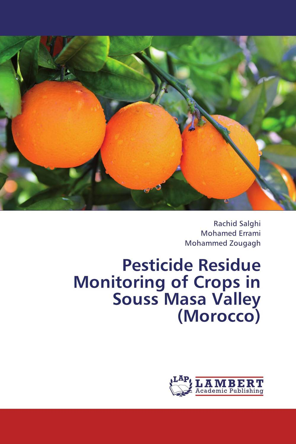 Pesticide Residue Monitoring of Crops in Souss Masa Valley (Morocco)