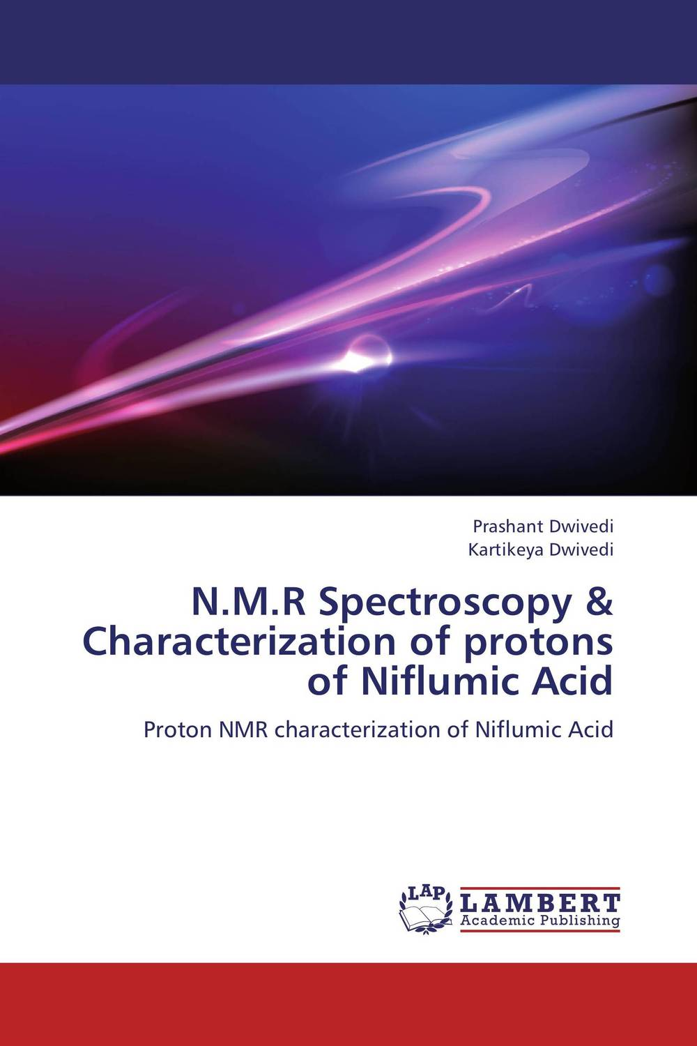N.M.R Spectroscopy & Characterization of protons of Niflumic Acid surface nuclear magnetic resonance
