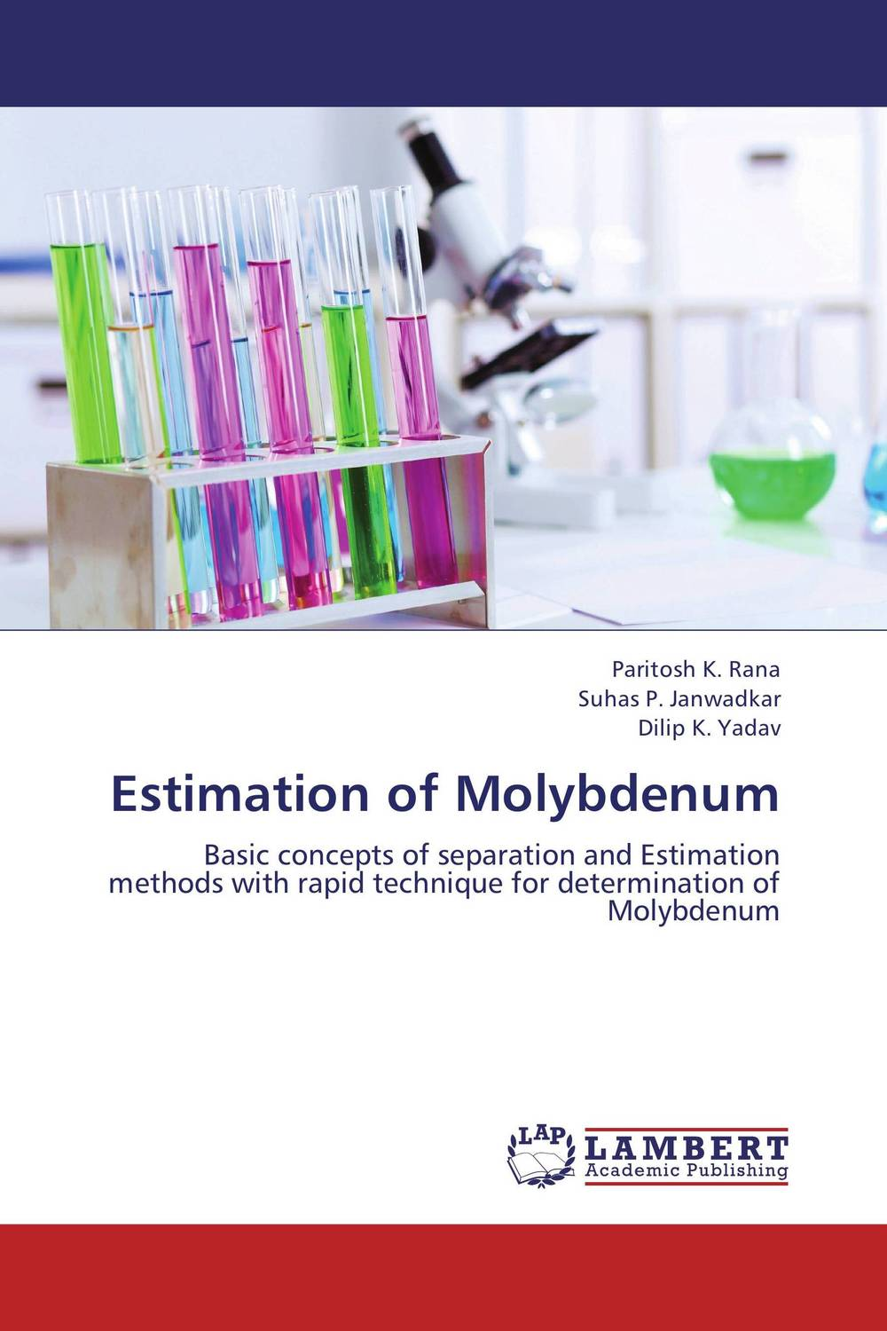 Estimation of Molybdenum a novel separation technique using hydrotropes