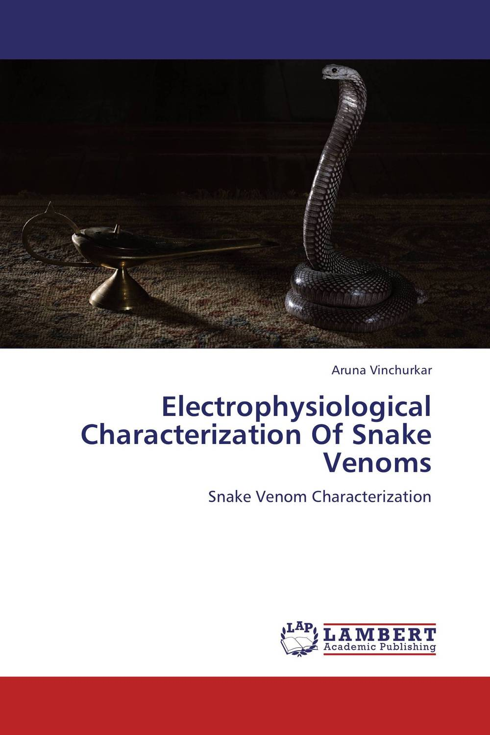 Electrophysiological Characterization Of Snake Venoms tapan kumar dutta and parimal roychoudhury diagnosis and characterization of bacterial pathogens in animal