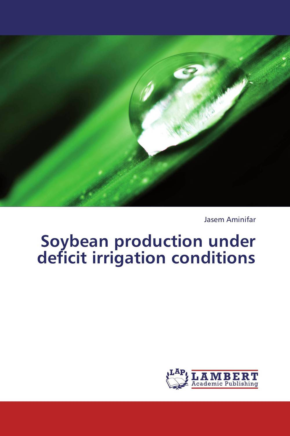 Zakazat.ru Soybean production under deficit irrigation conditions