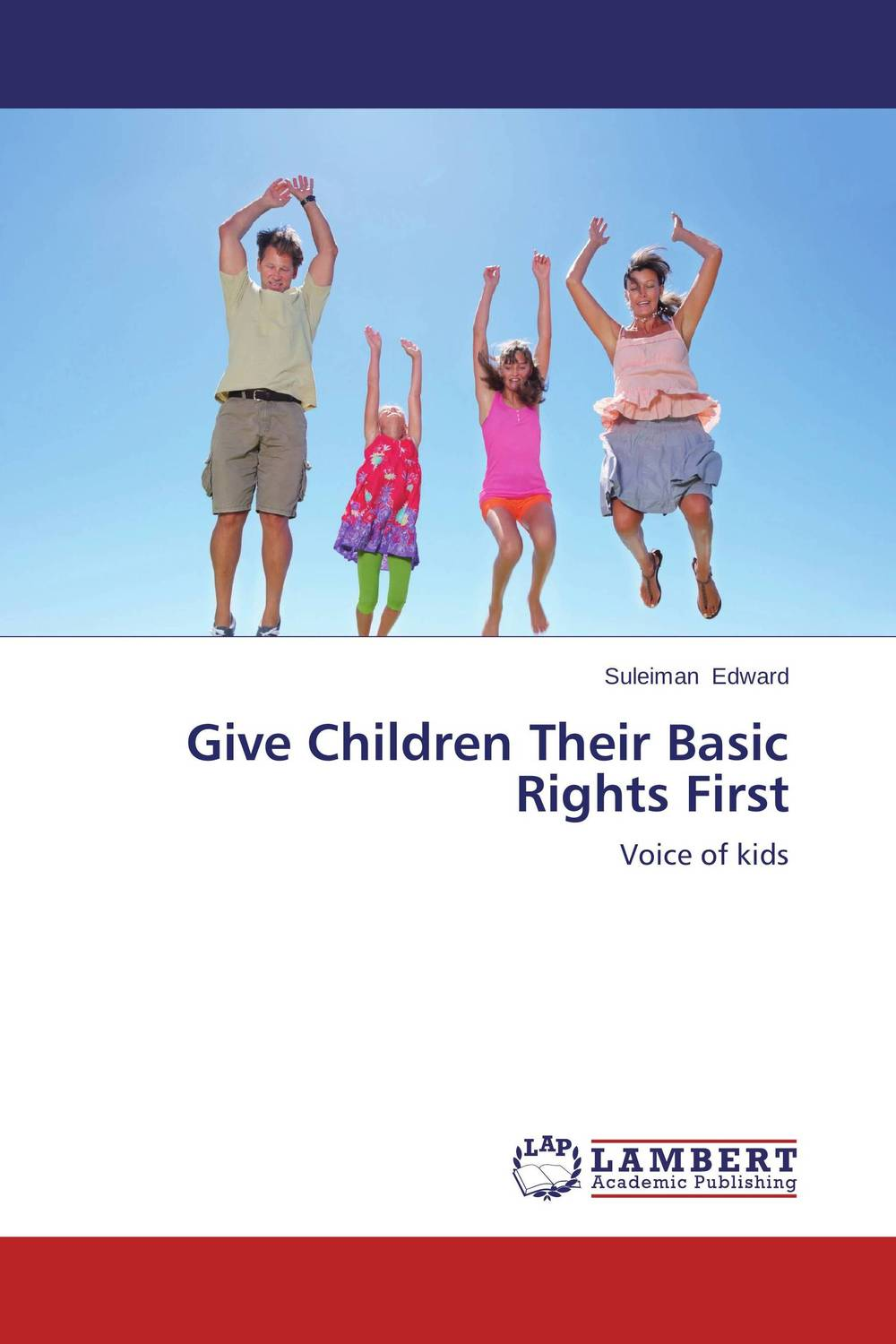 Give Children Their Basic Rights First seeing things as they are