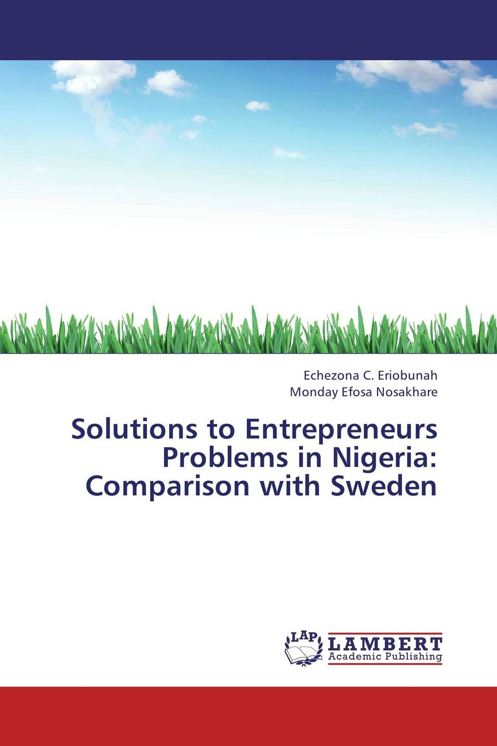 Solutions to Entrepreneurs Problems in Nigeria: Comparison with Sweden marc lane j the mission driven venture business solutions to the world s most vexing social problems