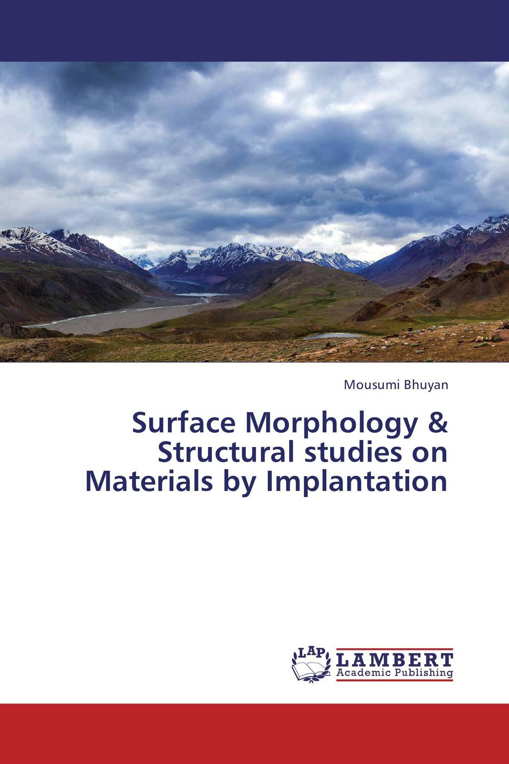 Surface Morphology & Structural studies on Materials by Implantation materials surface processing by directed energy techniques