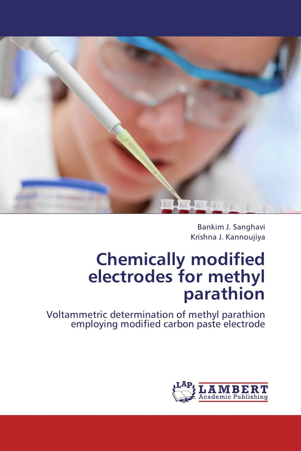 Chemically modified electrodes for methyl parathion