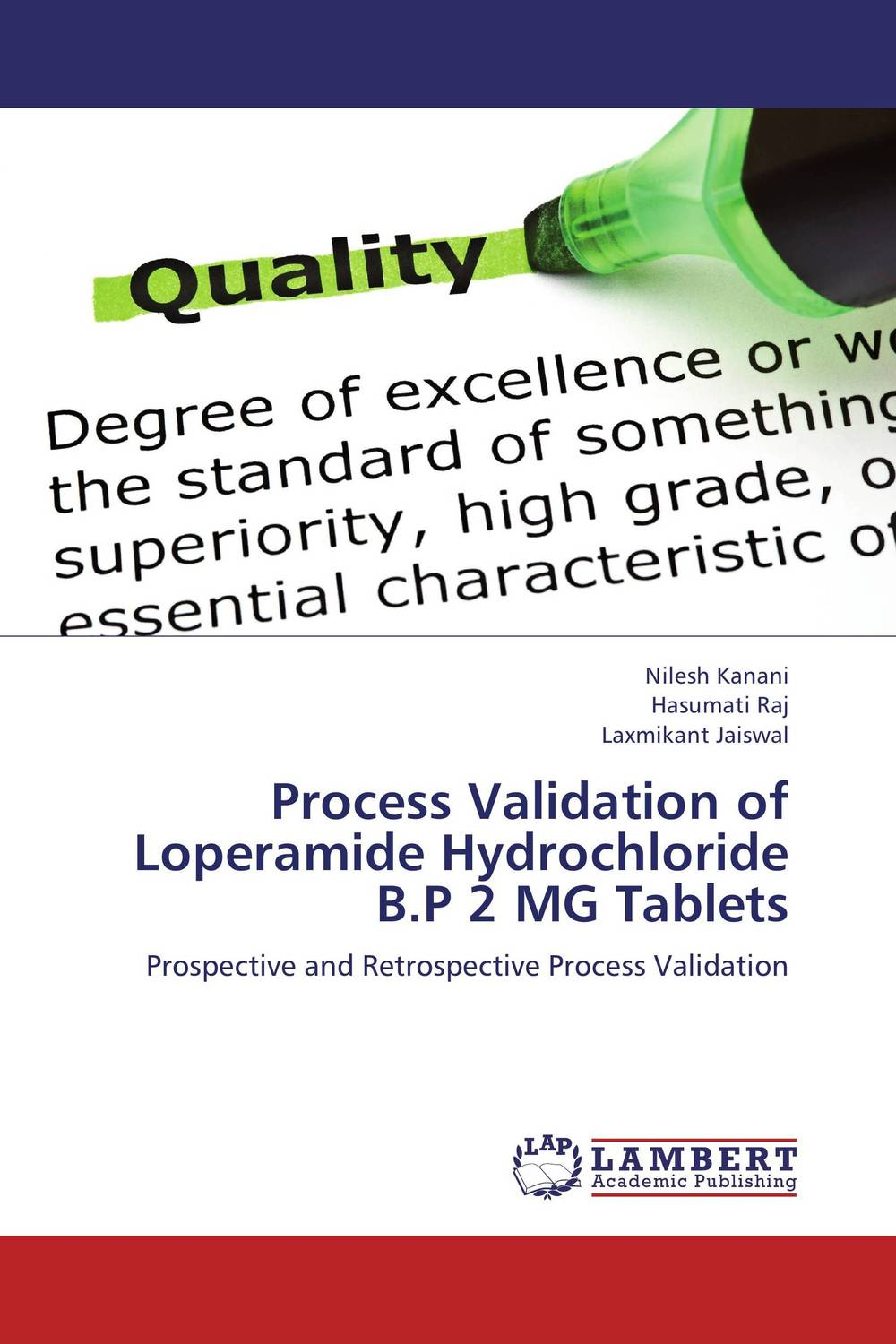 Process Validation of Loperamide Hydrochloride B.P 2 MG Tablets gulliver игр мягкая кролик коричневый 40см 7 42045