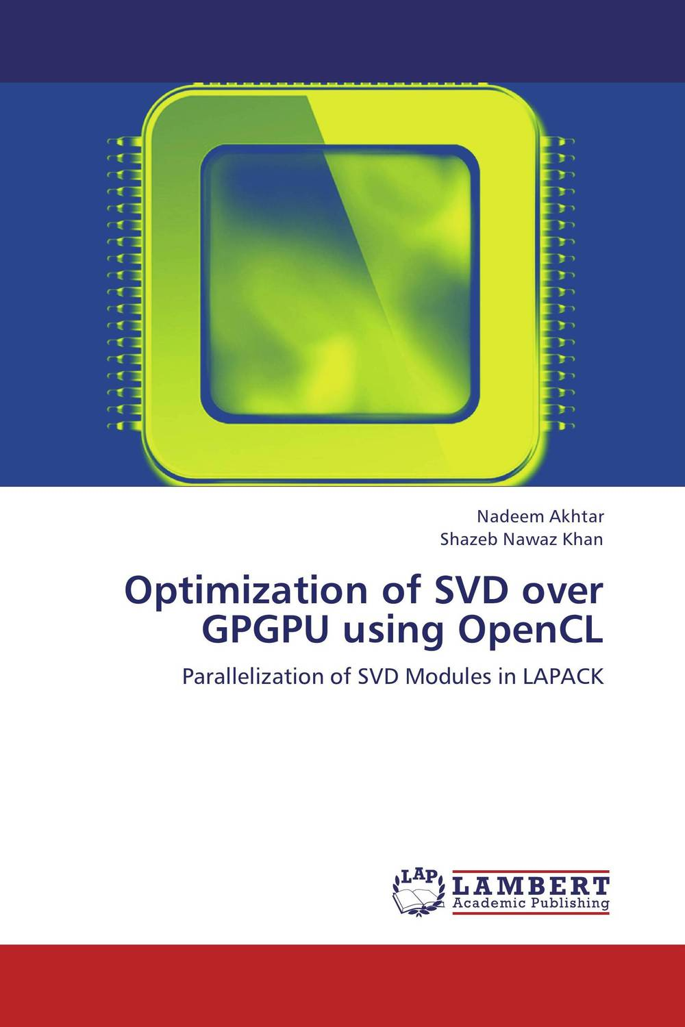 Optimization of SVD over GPGPU using OpenCL aim top svd gbb