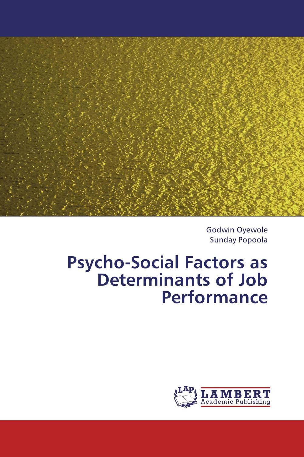 Psycho-Social Factors as Determinants of Job Performance the viabilities of musyarakah as social protection mechanism