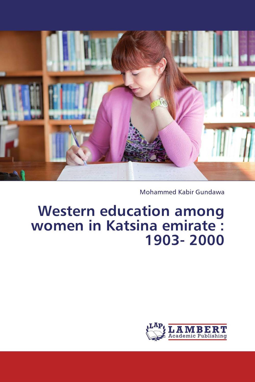 Western education among women in Katsina emirate : 1903- 2000