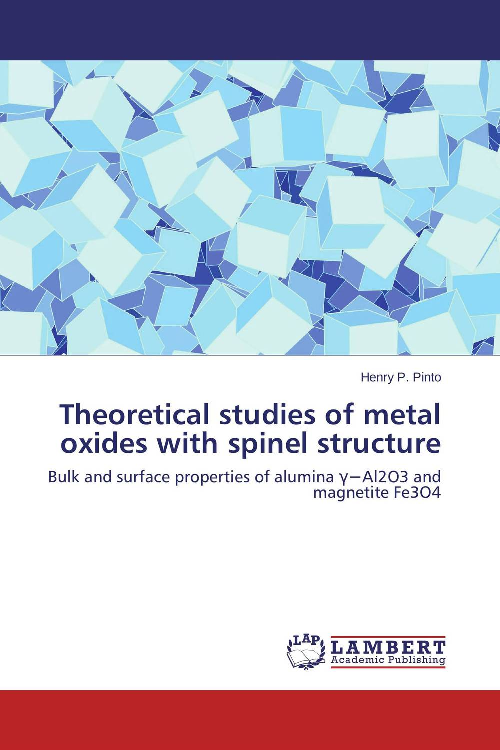 Theoretical studies of metal oxides with spinel structure girjesh singh v ganesan and s b shrivastava structural studies of nano crystalline metal oxide films