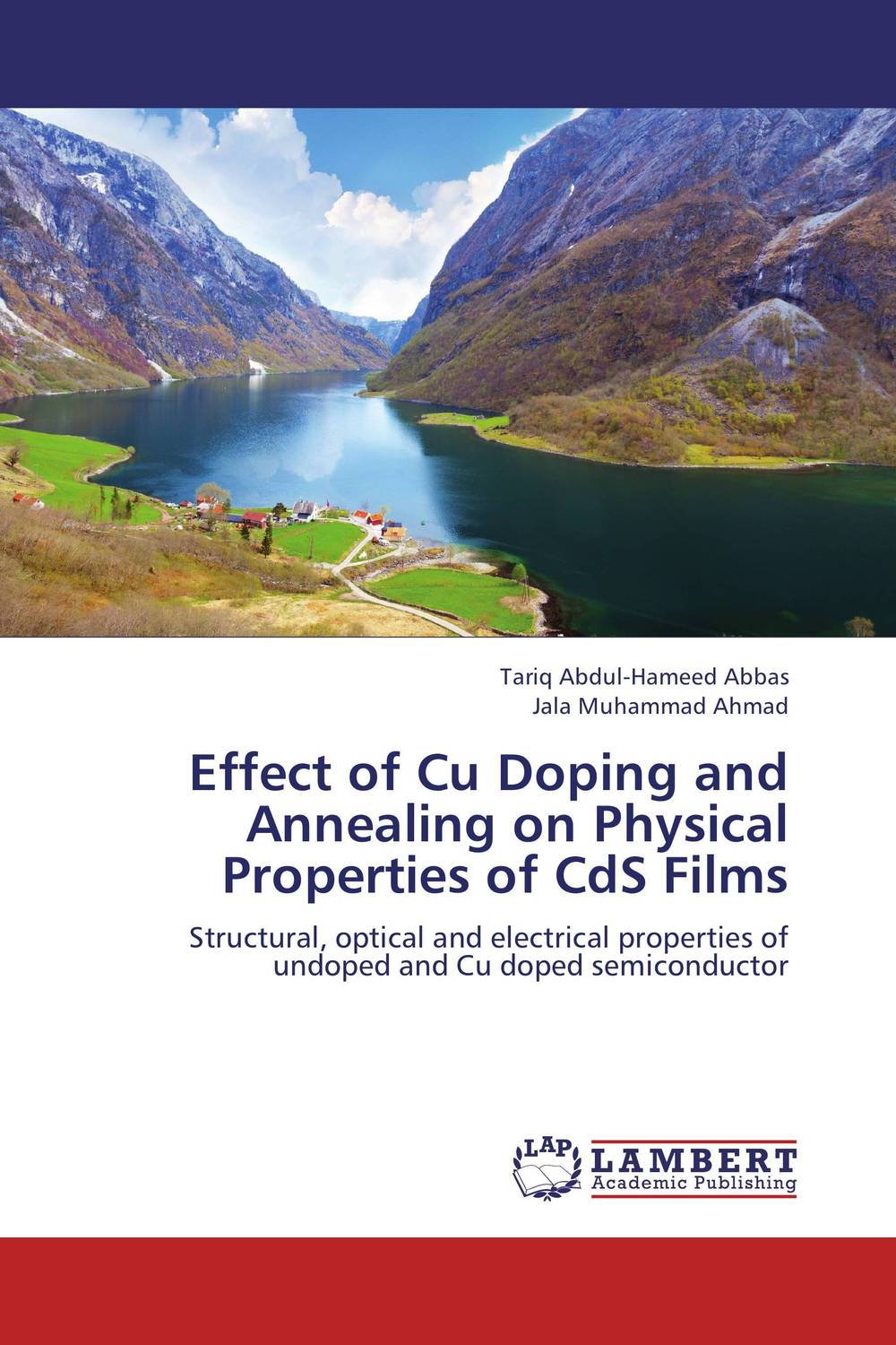 Effect of Cu Doping and Annealing on Physical Properties of CdS Films michael quinten a practical guide to optical metrology for thin films