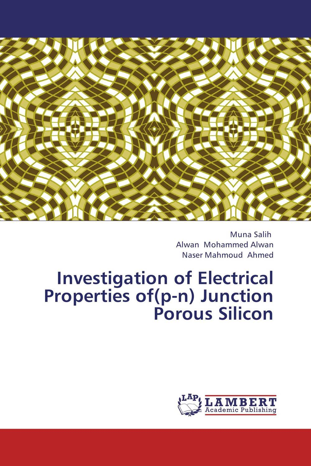 Investigation of Electrical Properties of(p-n) Junction Porous Silicon krishen kumar bamzai and vishal singh perovskite ceramics preparation characterization and properties