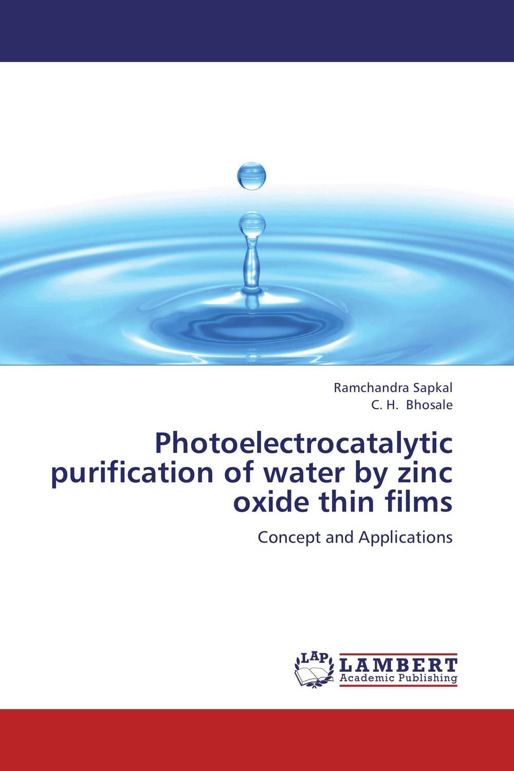 Photoelectrocatalytic purification of water by zinc oxide thin films rajendra c pawar and pramod s patil zinc oxide nanocrystalline thin films dye sensitized solar cells