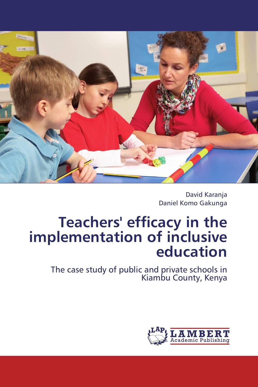 Teachers' efficacy in the implementation of inclusive education drivas g education learning training in a digital society teachers resource book книга для учителя