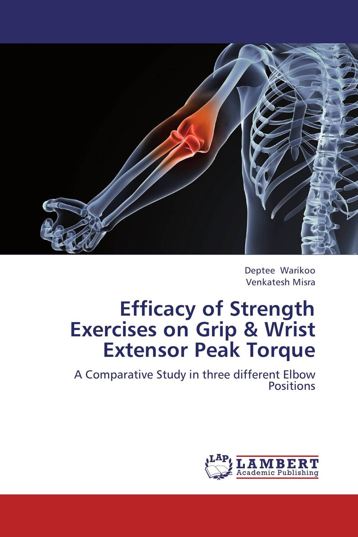 Efficacy of Strength Exercises on Grip & Wrist Extensor Peak Torque цена