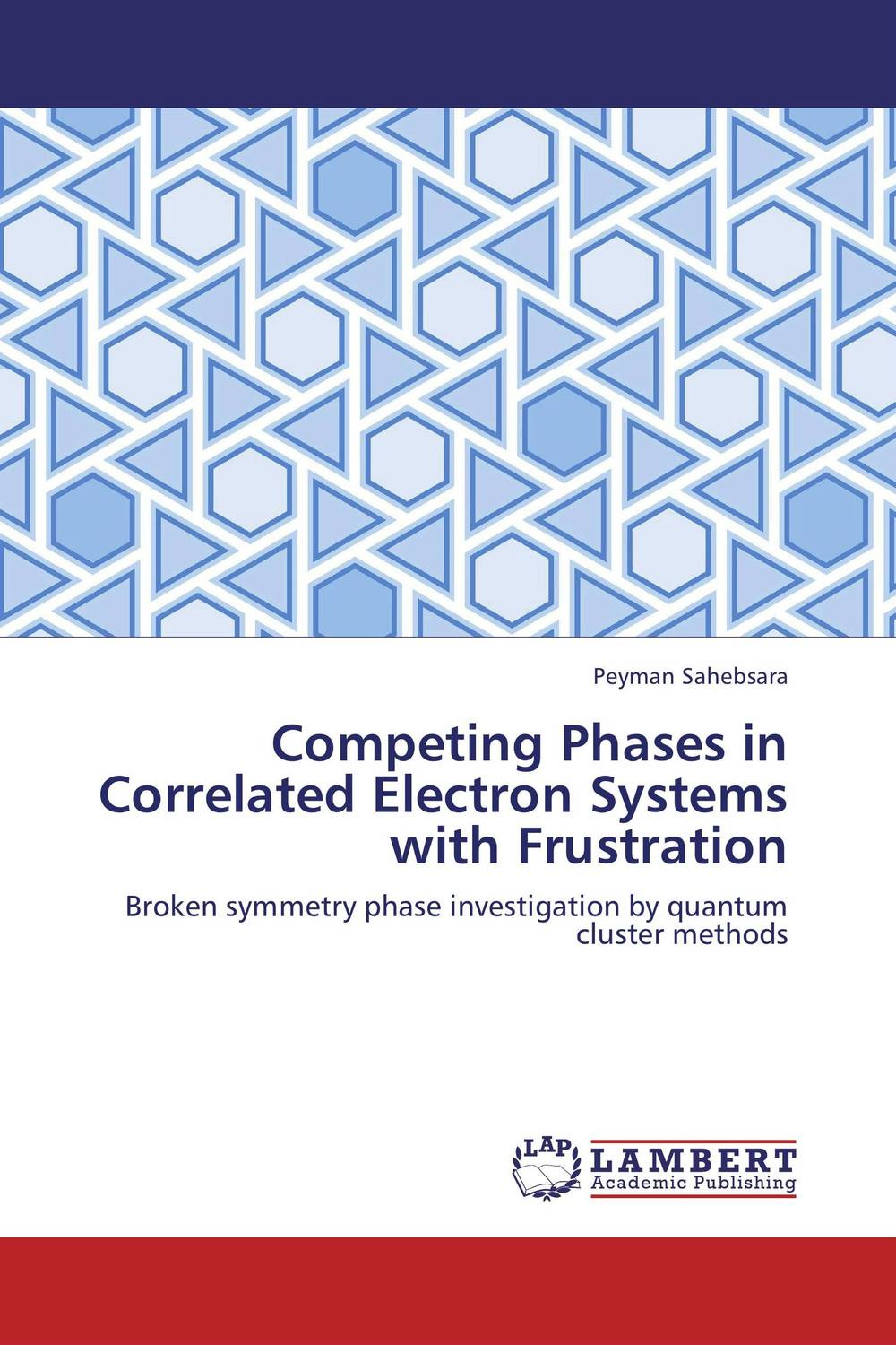 Competing Phases in Correlated Electron Systems with Frustration rubinyl managing large systems without a chain of command
