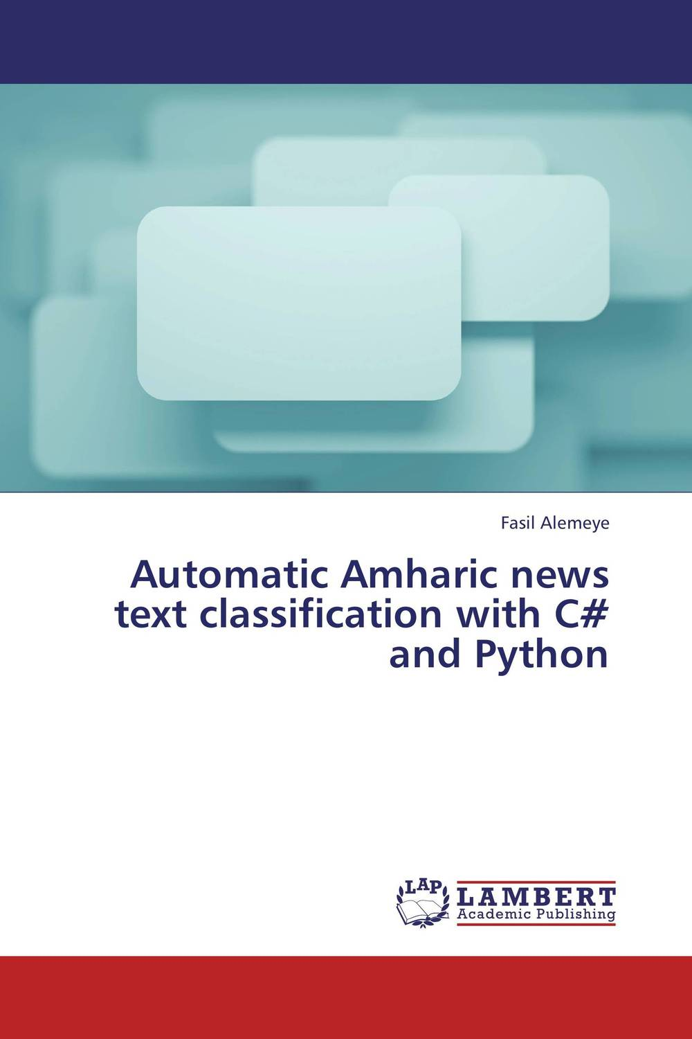 Automatic Amharic news text classification with C# and Python a subspace approach for speech signal modelling and classification