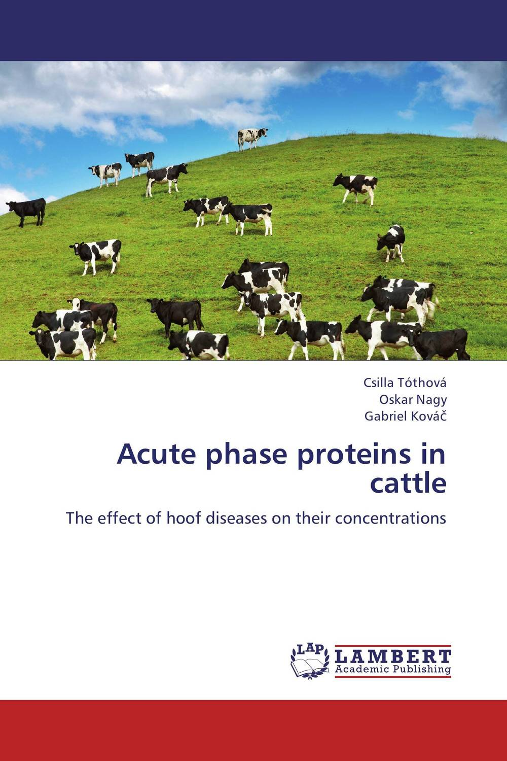 Acute phase proteins in cattle