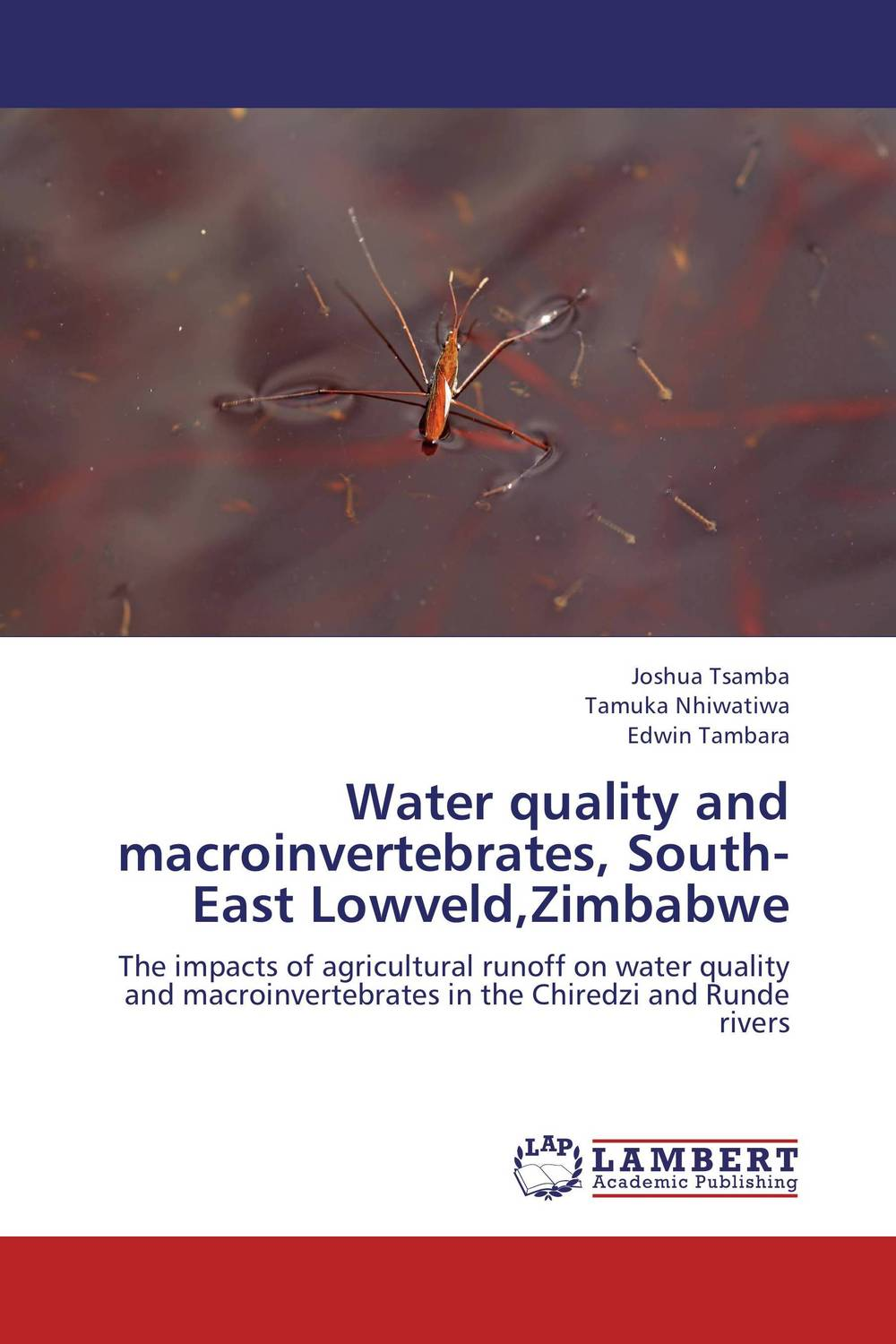 Water quality and macroinvertebrates, South-East Lowveld,Zimbabwe