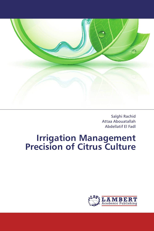 Irrigation Management Precision of Citrus Culture evaluation of stage wise deficit furrow irrigation