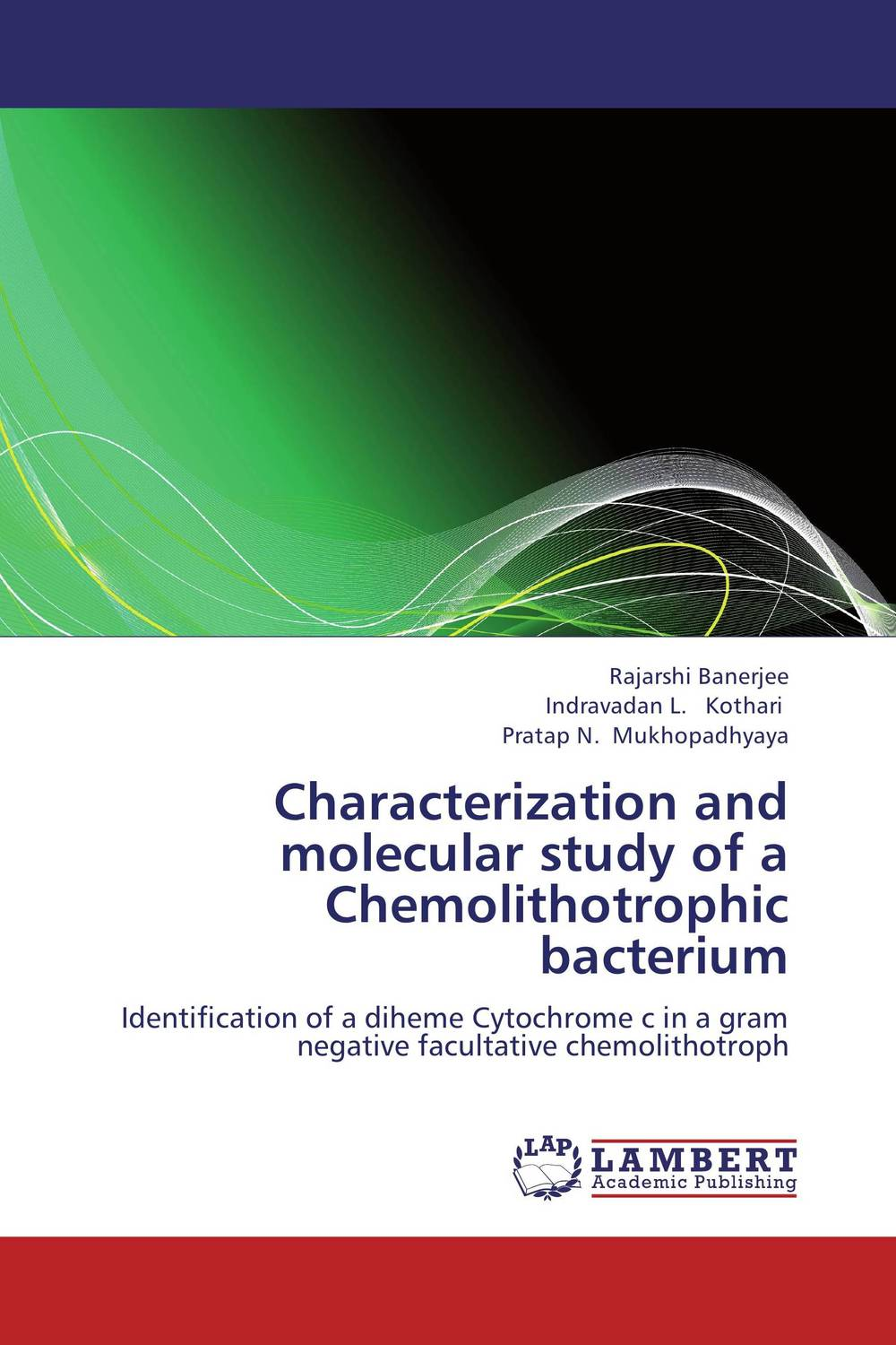 Characterization and molecular study of a Chemolithotrophic bacterium jyoti yadav arvind kumar and lalit kumar molecular characterization of lactamase e coli and klebsiella spp