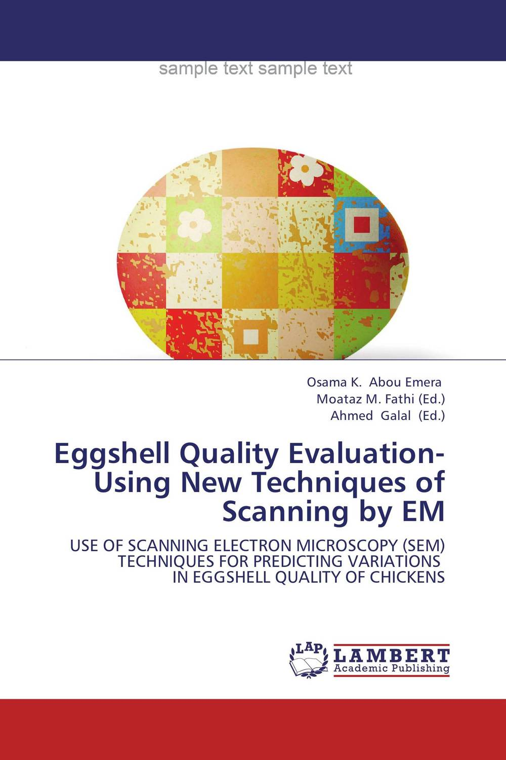 Eggshell Quality Evaluation- Using New Techniques of Scanning by EM evaluation of stage wise deficit furrow irrigation