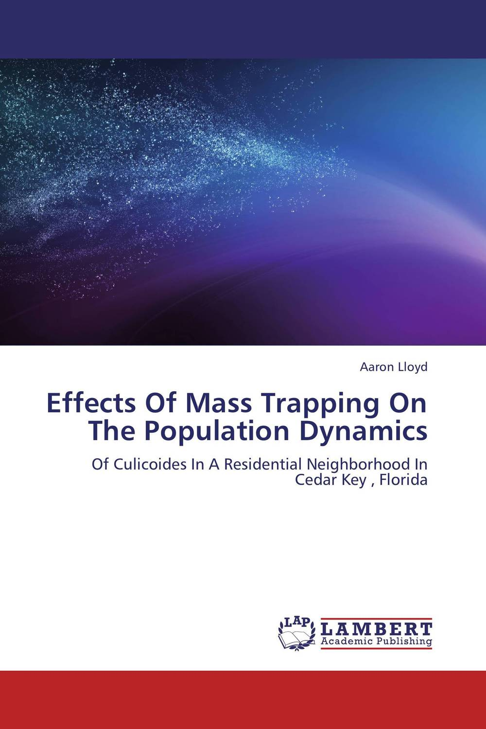 Effects Of Mass Trapping On The Population Dynamics