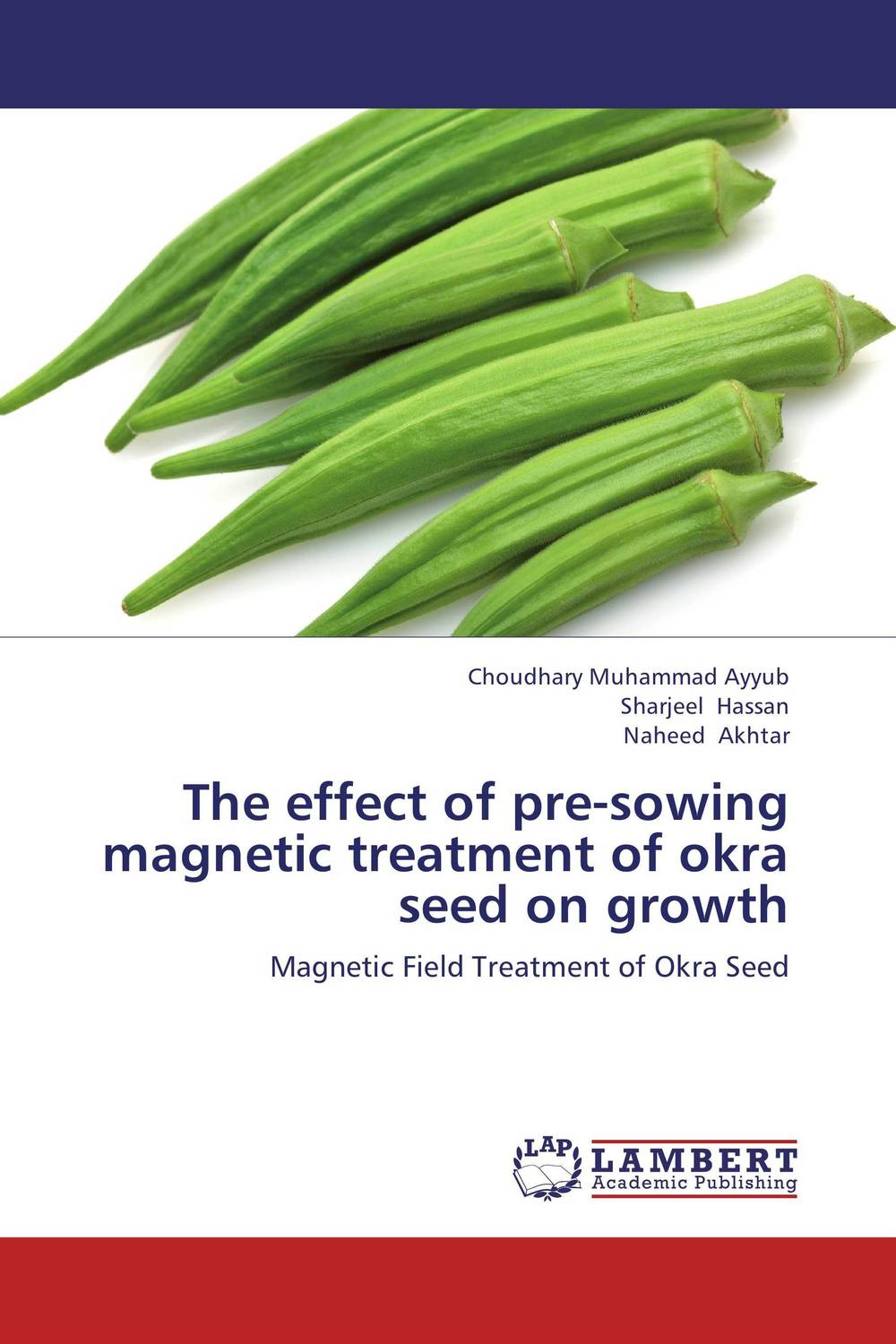 The effect of pre-sowing magnetic treatment of okra seed on growth недорого