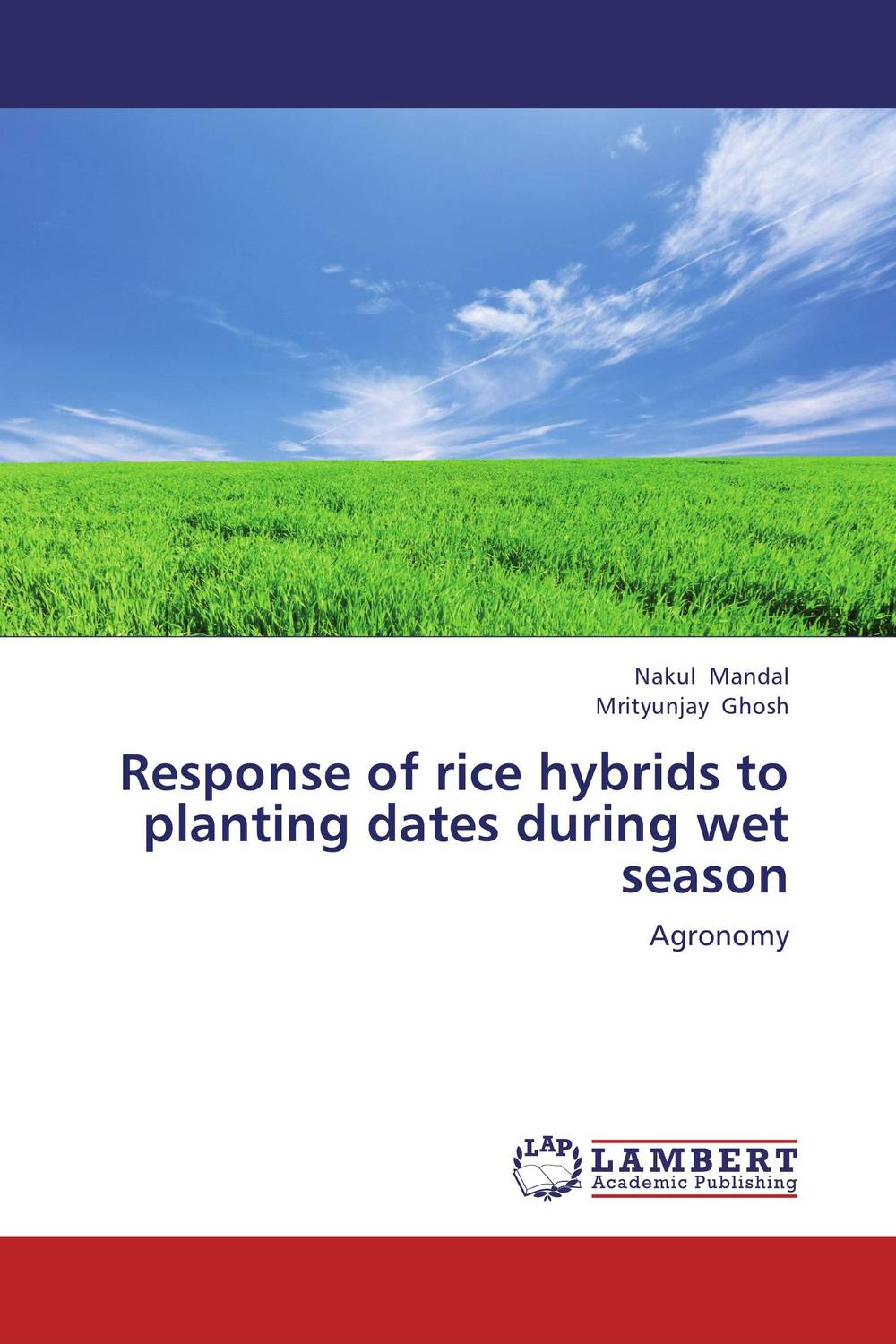 Response of rice hybrids to planting dates during wet season response of rice to top dressing of p through complex fertilizers